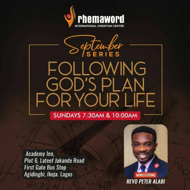 Following and Fulfilling God's Plan for Your Family