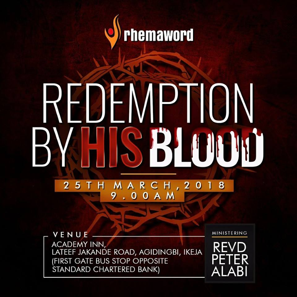 Redemption By His Blood