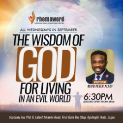 The Wisdom of God for Living In An Evil World 4