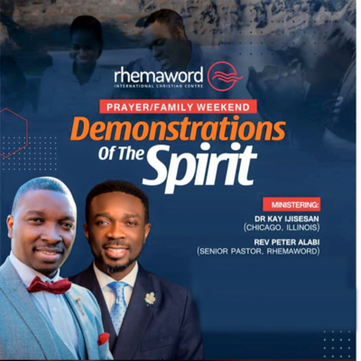 Demostrations Of The Spirit I