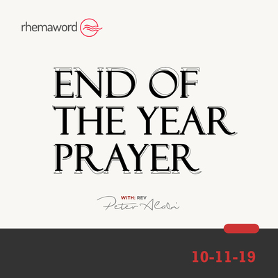 End Of The Year Prayer I