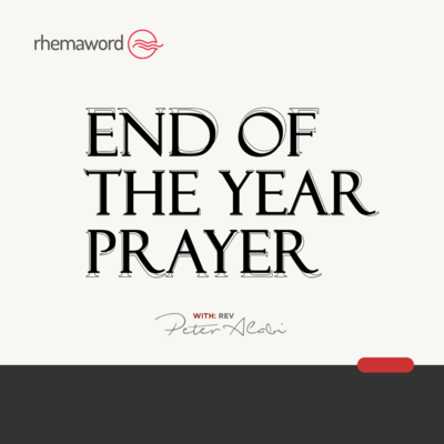 End Of The Year Prayer II